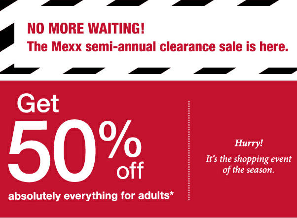 Each sale has their own rules for discount days. Check with the sale staff to determine which items are discounted.