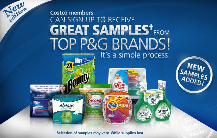 free samples pg