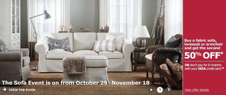 Ikea Sofa Event Buy A Fabric Sofa Loveseat Or Armchair
