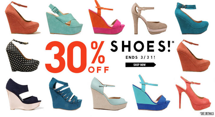 Forever 21 30 Off Shoes (Until Mar 31)