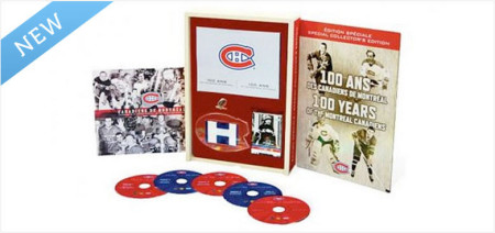 Montreal Canadiens 100 Year Anniversary Special Collector's Edition DVD
