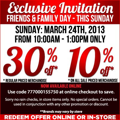 SoftMoc Friends & Family Sale - 30 Off Regular Priced Merchandise (Mar 24, 10am-1pm Only)