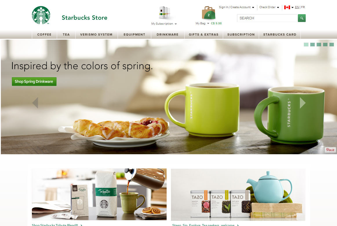 Starbucks Store 15 Off Any Purchase Promo Code (Mar 25-27)