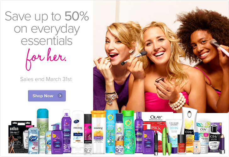 Well Save up to 50 Off Everyday Essentials for Her (Until Mar 31)