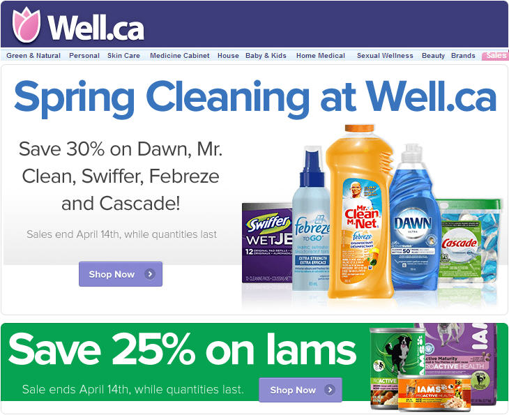 Mr clean coupons canada