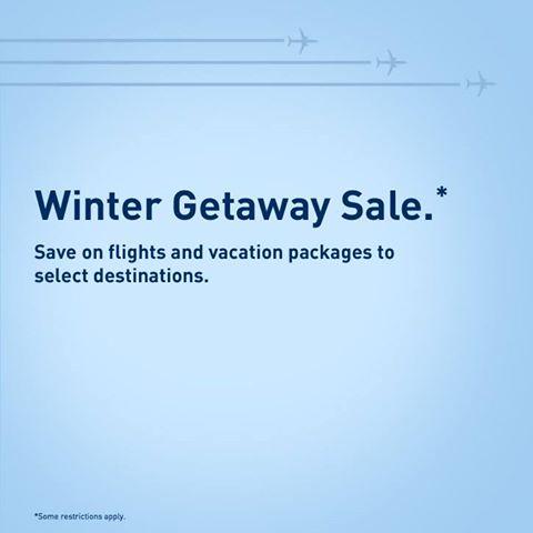 WestJet Winter Getaway Sale (Book by July 22)