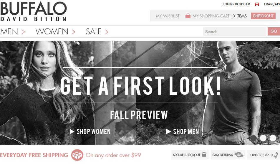 Buffalo 15 Off Fashion Denim Apparel Promo Code (Until Aug 31)