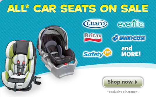 Toys R Us All Car Seats on Sale + Extra $10 Off Promo Code (Until Aug 8)
