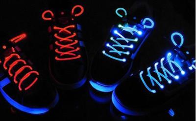 Glowing LED Shoelaces