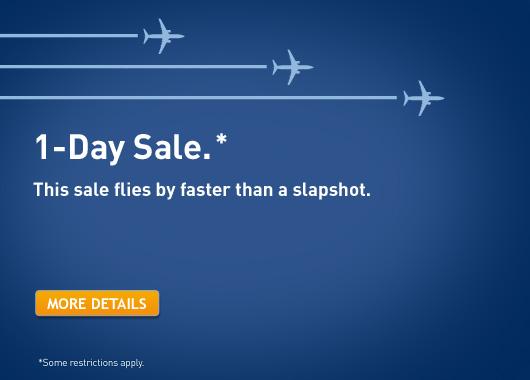 WestJet 1-Day Seat Sale (Nov 21)