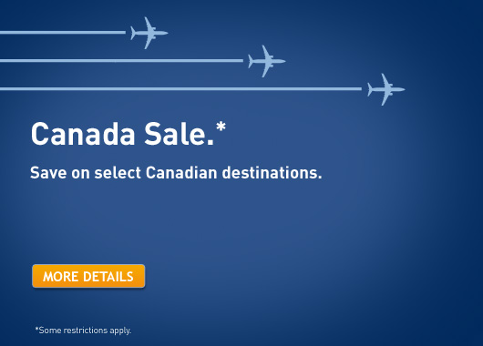 WestJet Canada Seat Sale (Book by Nov 8)