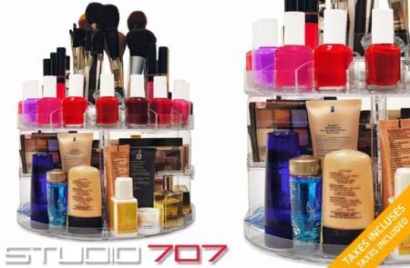 Cosmetic Carousel rack